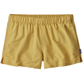 Patagonia Barely Baggies Shorts Dam surfboard yellow